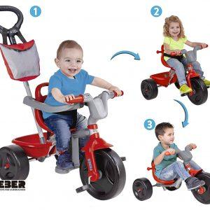 3 en 1 Triciclo para bebes