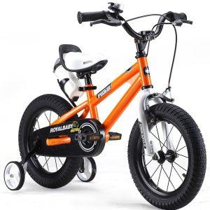 Bicicleta BMX Freestyle naranja (14 pulgadas)