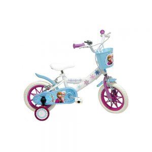 Bicicleta Princesa del reino del Hielo con cesta
