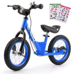ENKEEO - 14'' Bicicleta sin Pedales Azul