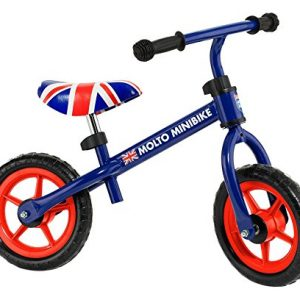 MOLTO - Bicicleta sin Pedales con Casco, Color Azul