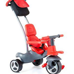 MOLTO - Triciclo Urban Trike Easy Control, Color Rojo