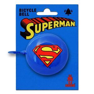 Timbre bicicleta retro Superman - DC Comics