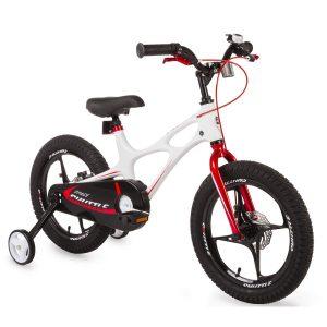 bici blanca de 16 pulgadas