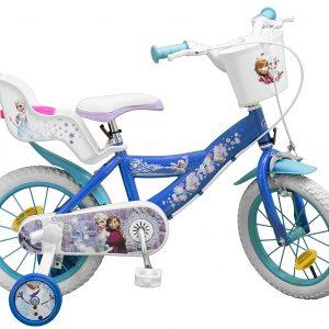 bicicleta infantil femenina frozen