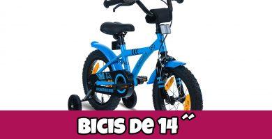 bicicletas de 14 pulgadas