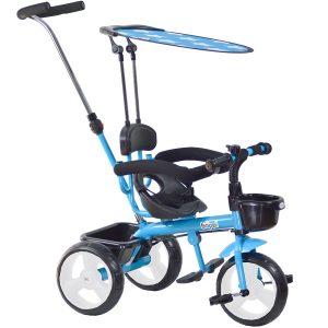boppi Triciclo 4 en 1 azul
