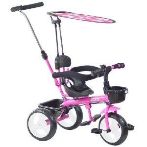 boppi Triciclo 4 en 1 rosa