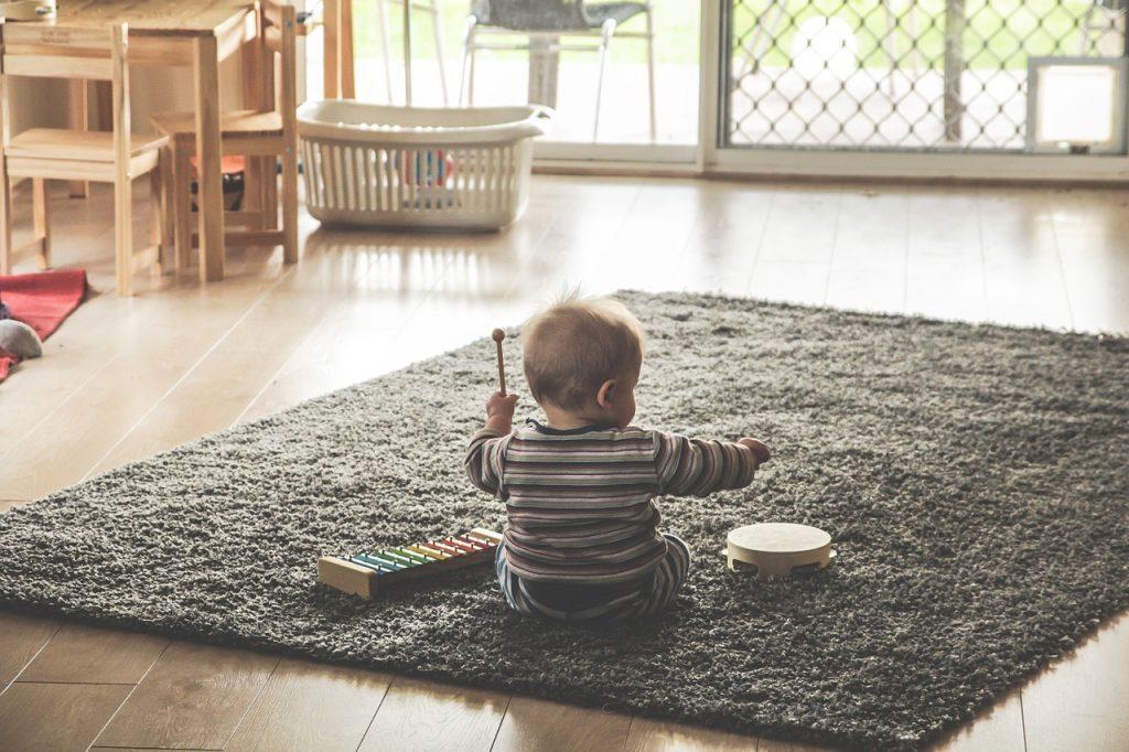 juegos para bebes 8 y 9 meses