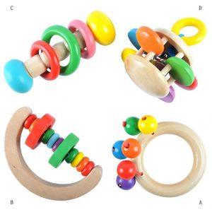 juguetes de madera para bebes de 9 meses