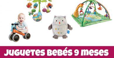 los mejores juguetes para bebes de o hasta 9 meses