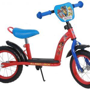 Bicicleta sin Pedales Paw Patrol de Metal de 12 Pulgadas