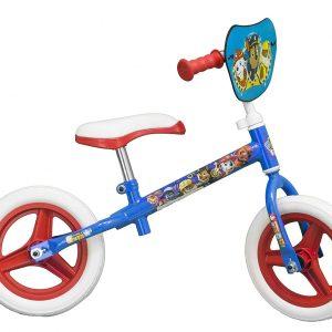 bicicleta patrulla canina sin pedales