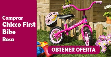 chicco first bike rosa