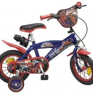 Bicicleta 12 Spiderman 2 Frenos