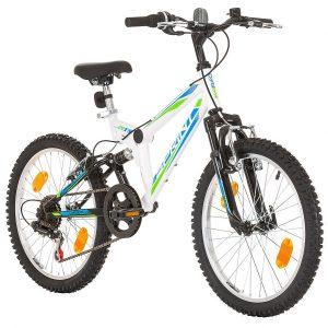 bicicleta 20 pulgadas blanca