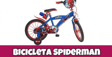 bicicletas de spiderman