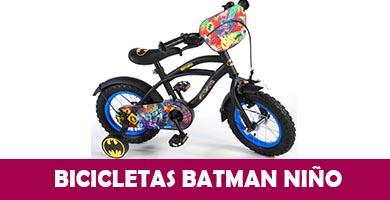 bicicleta batman niño