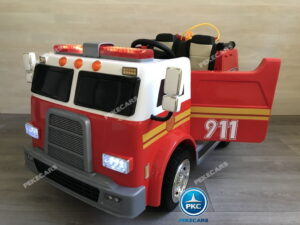 Camión Eléctrico de bomberos para niños