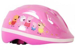 casco bicicleta peppa pig