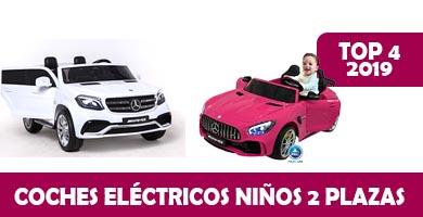 coches electricos para niños 2 plazas