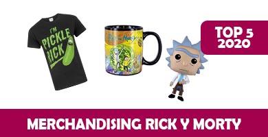 Merchandising rick y morty